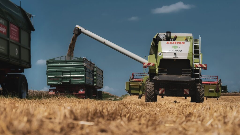 Heavy plant is invaluable in farming, but it is important to be aware of the dangers when working with machines.