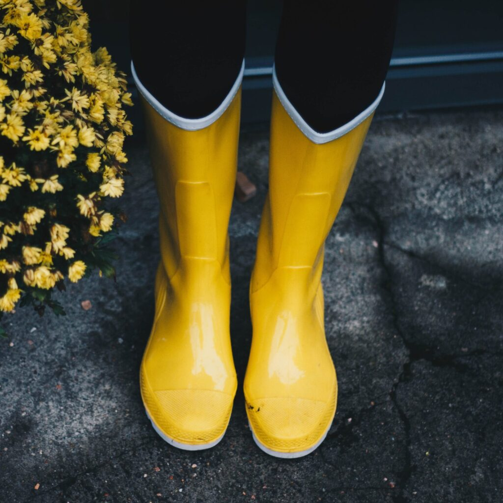 """Yellow Wellies' slogan """"Who would fill your boots?"""" is a poignant reminder of the dangers involved in agriculture."""